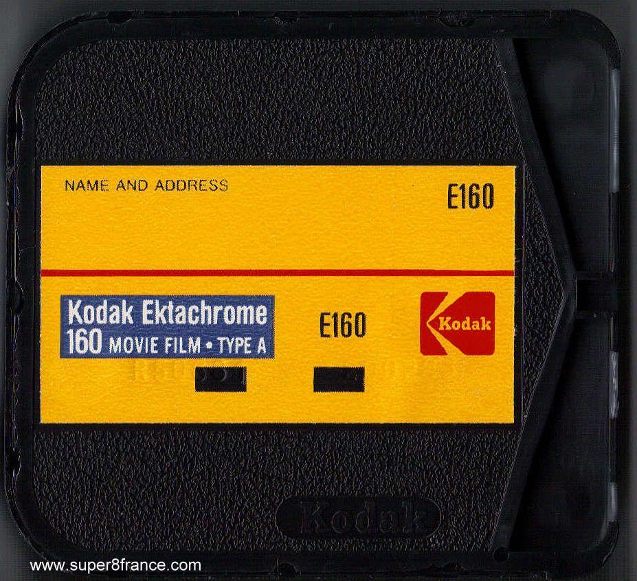 Développement et numérisation de ce chargeur Super 8 Ektachrome 160 non Em26 peut s'effectuer chez SUPER8FRANCE