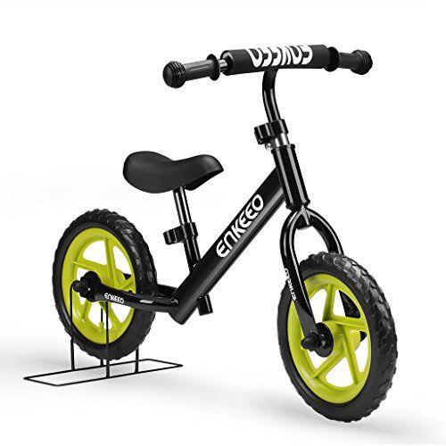 Enkeeo Laufrad 12 Zoll Balance Bike Lernlaufrad Roller