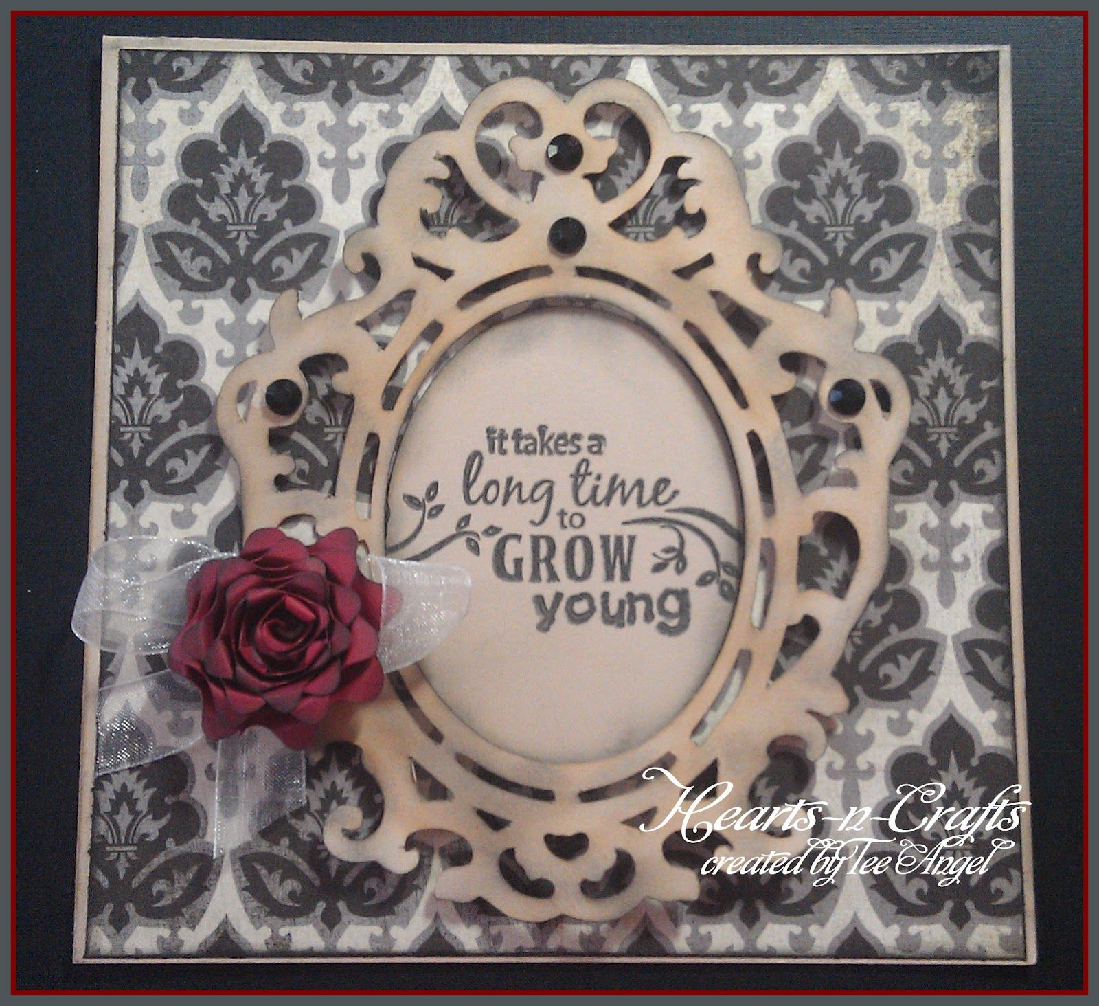 One scrap at a time fancy frames birthday card made with cricut one scrap at a time fancy frames birthday card made with cricut fancy frames and flower shoppe cartridges cards pinterest bookmarktalkfo Gallery
