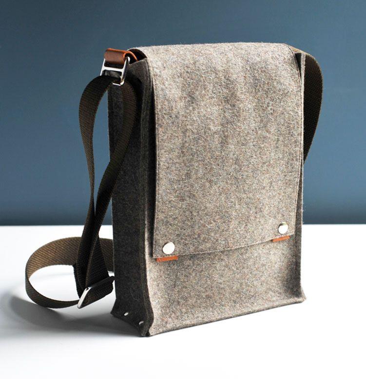 Felt Messenger Bag Inspiration