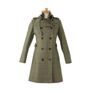 Dubarry - Milton 3/4 Length Ladies Tweed Coat (Clayton Tweed ...