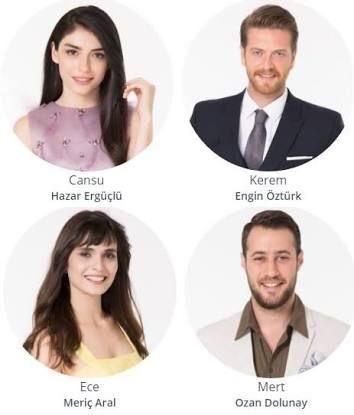 Hangi Cift Cansu Kerem Ece Mert Libros Descargar Fotos Turcos