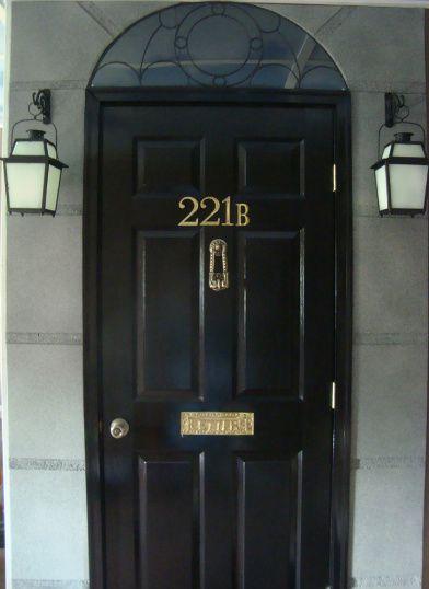 221b Baker Street door tutorial. Ooh I really want to do this. & 221b Baker Street door tutorial | 221b baker street Baker street ...