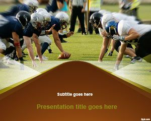 Free nfl powerpoint template is a free powerpoint background and free nfl powerpoint template is a free powerpoint background and slide design for sport presentations toneelgroepblik Image collections