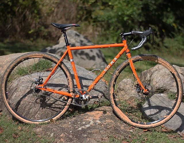 d7c44510024 This bike is made of magic. I love my new Soma Wolverine. Through ...