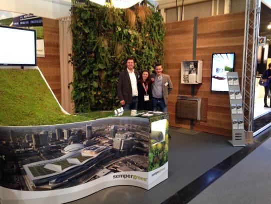 Sempergreen Bau Messe 2015 Munchen Greenroof And Greenwall
