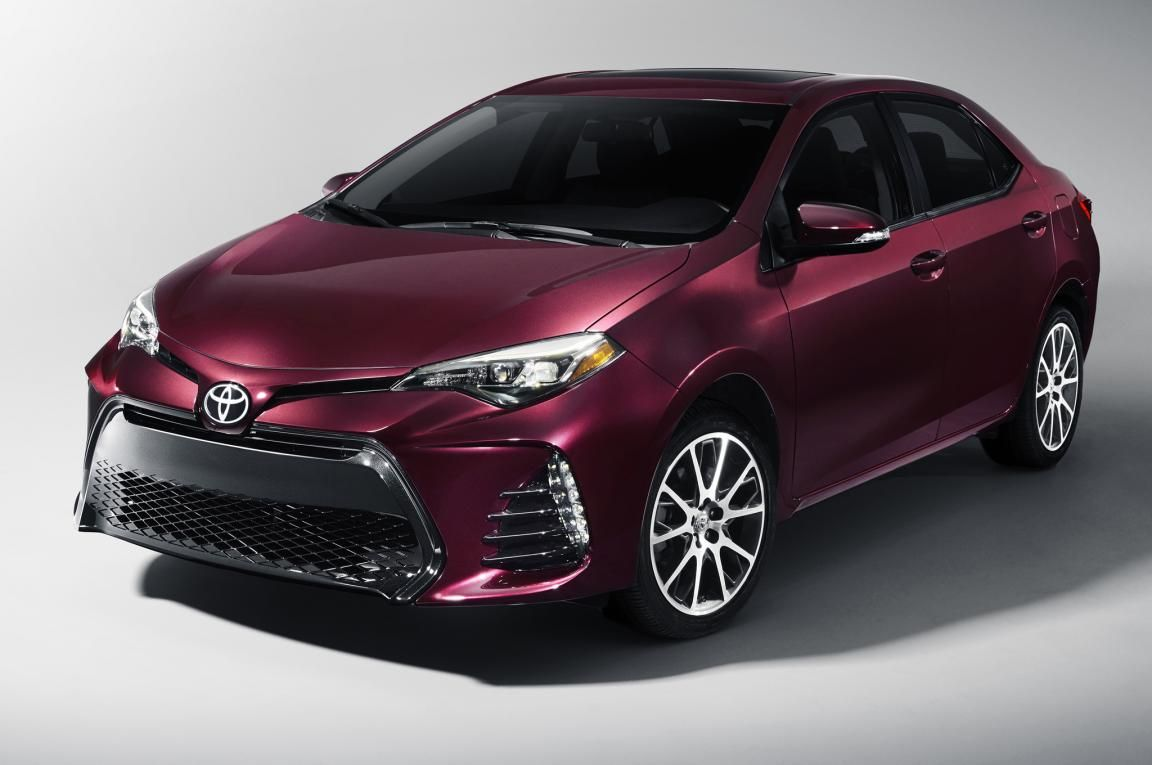 2017toyotacorolla50thanniversaryspecialeditionfront