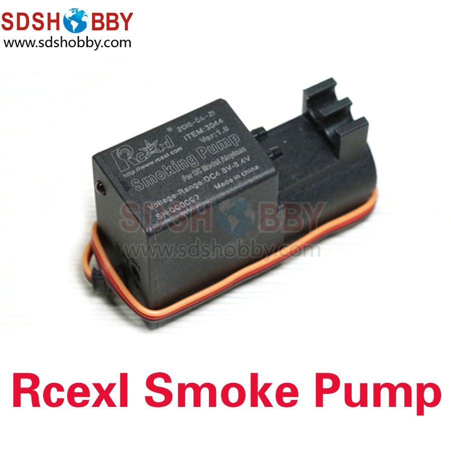 RCEXL 작은 연기 펌프 가솔린 펌프 흡연 펌프 조정 흐름 RC 비행기