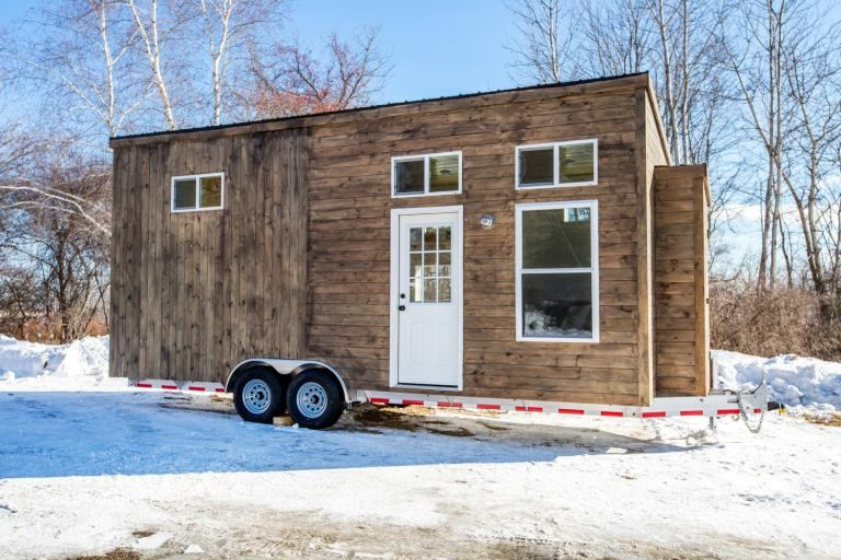 24ft tiny home by global tiny houses with images tiny