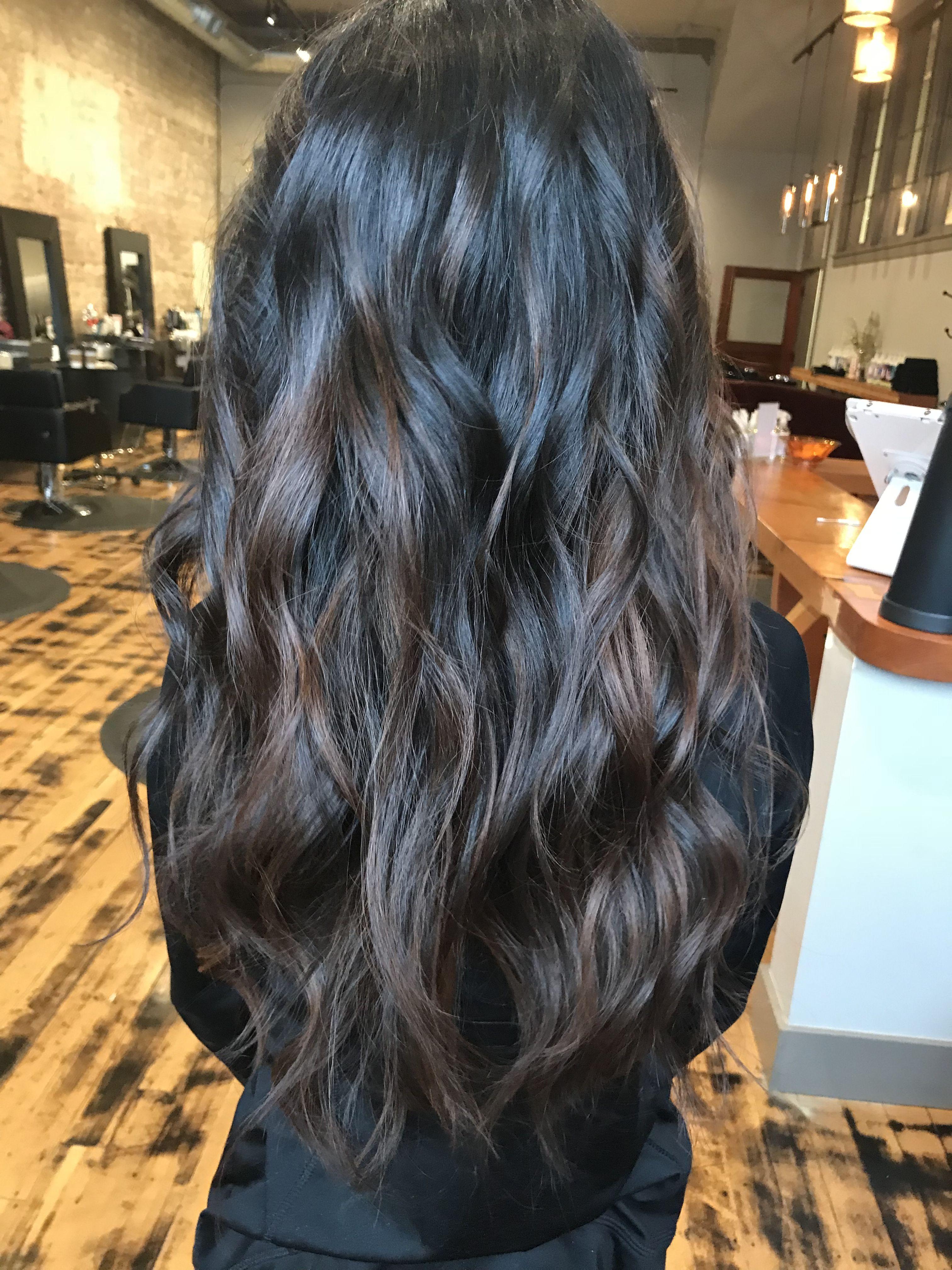 Natural Balayage Dark Brown Hair Brown Balayage Carmel Hair Carmel Hair Brown Balayage Balayage