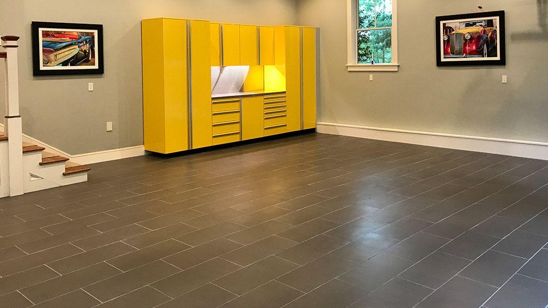 Garage Wood Floor Design Garage floor, Wood floor design