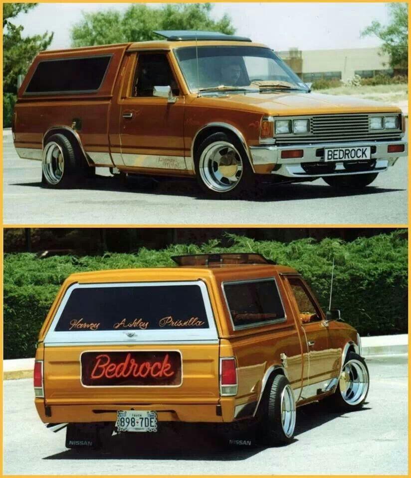 Old School Mini, Datsun/Nissan 720 Mini trucks, Lowrider