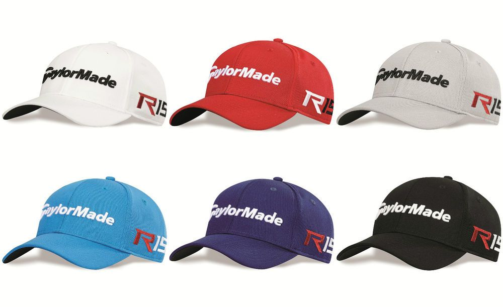 b161fee7a4f New For 2015 - TaylorMade Golf Tour Radar R15 AeroBurner Adjustable Golf Cap  Hat