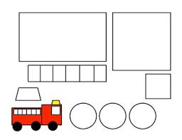 résultats de recherche d images pour shape fire truck craft