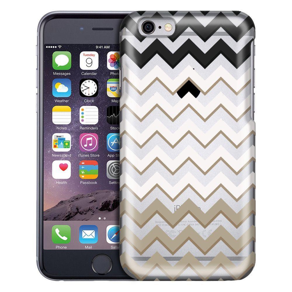 Apple iPhone 6 Jet, Ivory and Khaki Chevrons Case