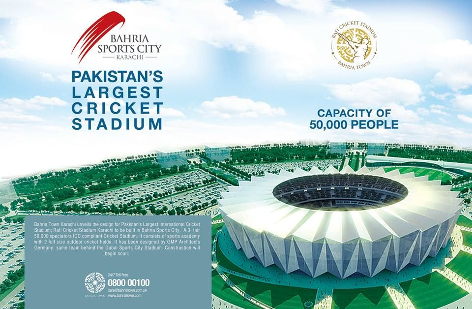 Rafi Cricket Stadium Karachi will provide an unrivalled experience to the cricket enthusiasts. Construction will begin soon. http://motiwalaestate.com/rafi-cricket-stadium-karachi-will-provide-an-unrivalled-experience-to-the-cricket-enthusiasts-construction-will-begin-soon/