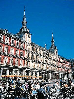 Plaza Mayor Las Terrazas Madrid España Espana España