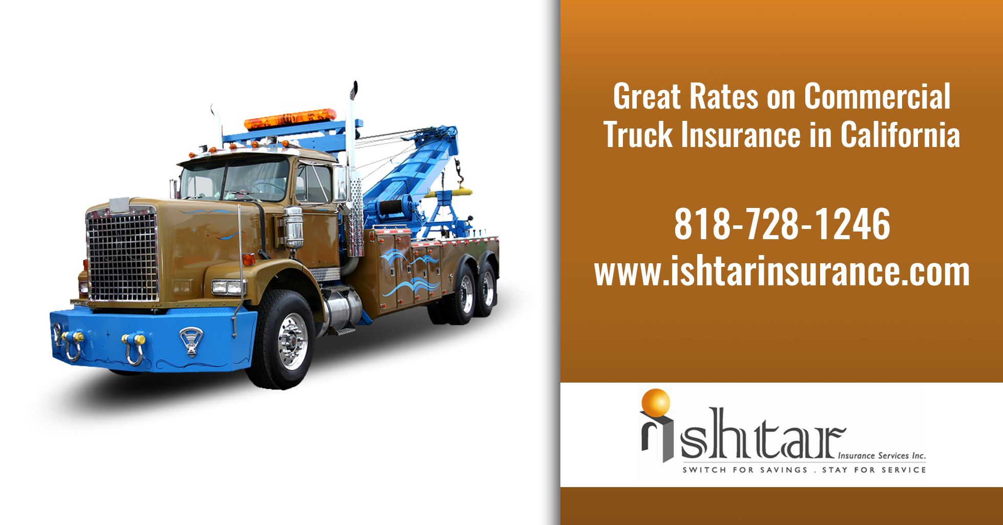 We Offer Great Rates On Commercial Truck Insurance In California