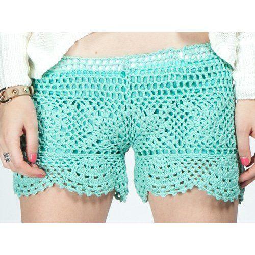 G2 Chic Mint Crochet Shorts ($113.95)