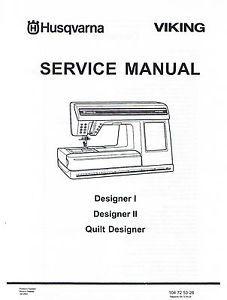 Husqvarna Viking Designer I 1 Ii 2 Quilt Sewing Machine
