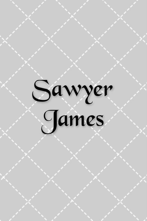 sawyer james first and middle name combos names pinterest