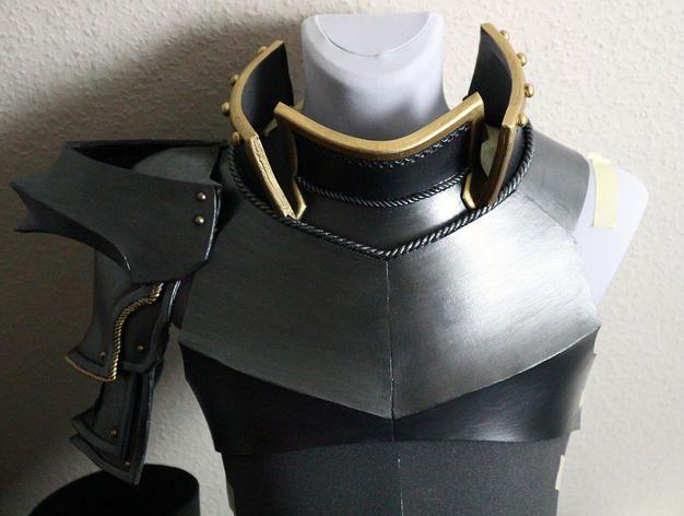 How to paint realistic metal foam armor blog tutorial