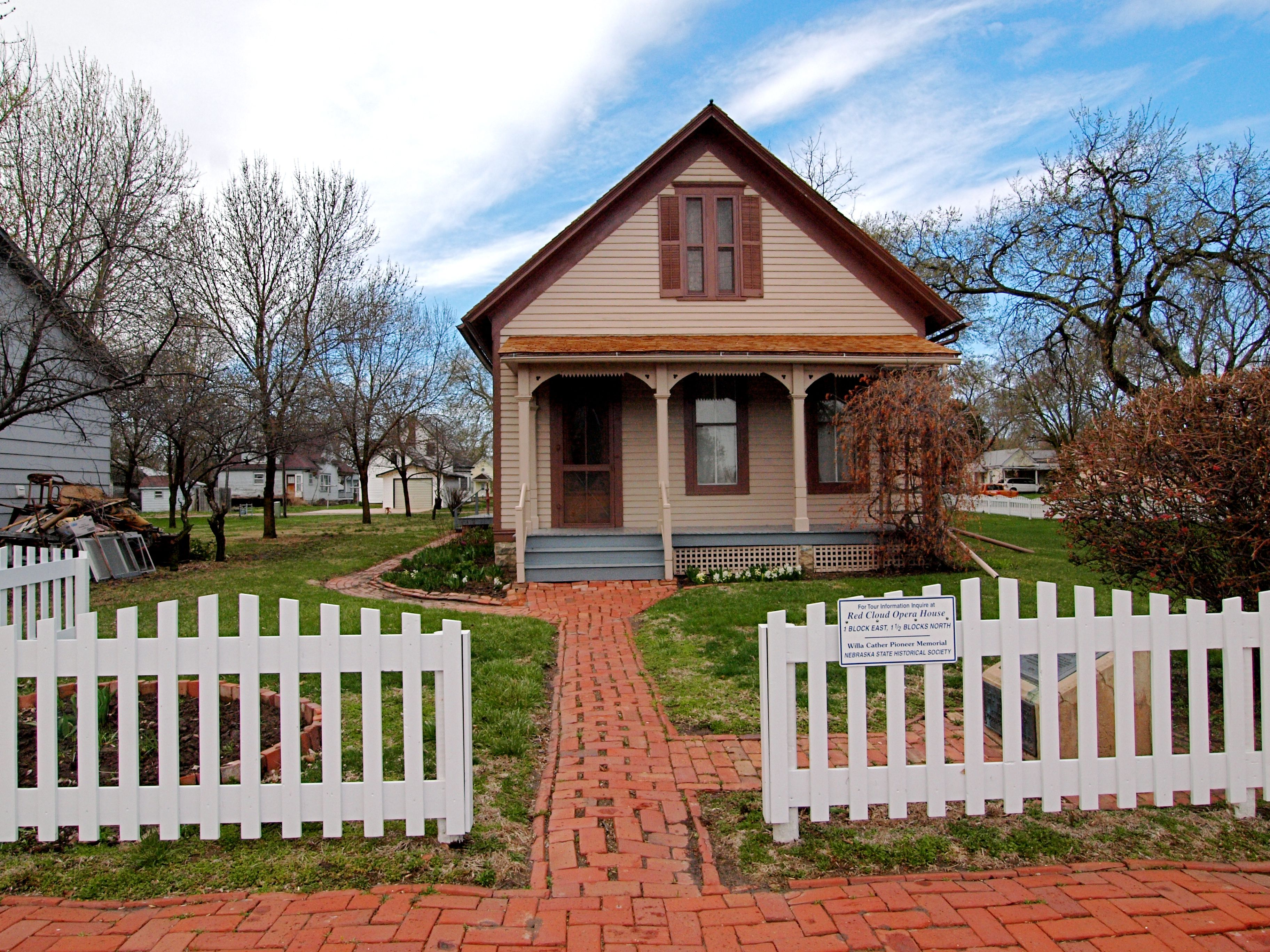 Willa cather s childhood home red cloud ne