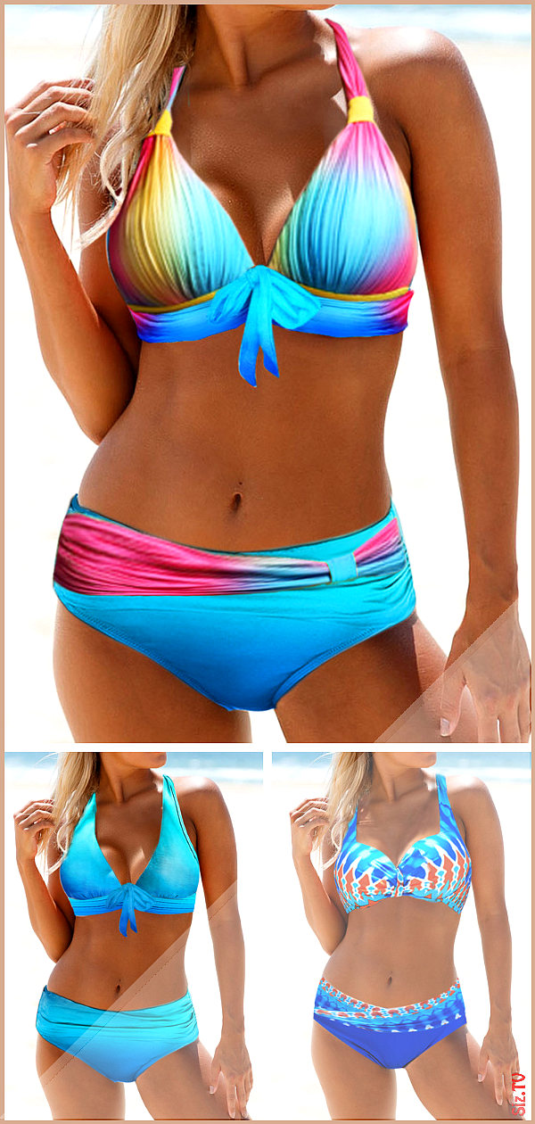 Look hotter this summer in these on trend bikini swimwear These bodycon bikini swimwear set are with...