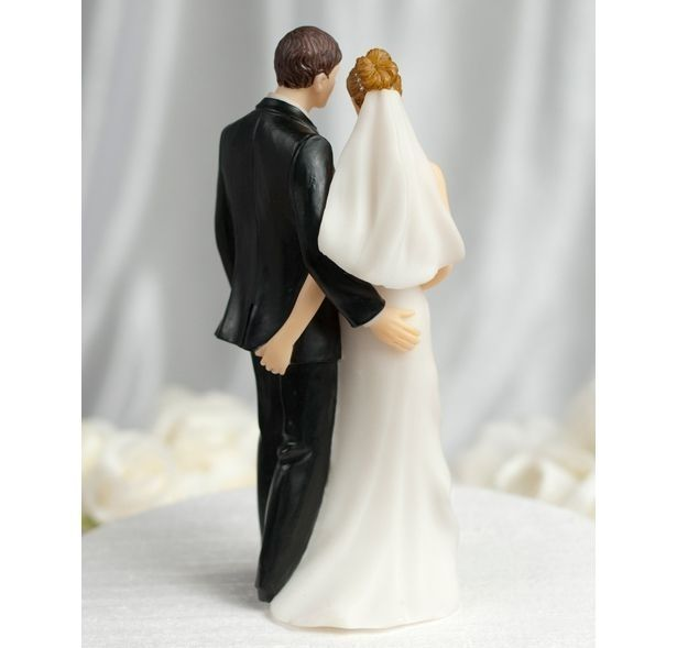 Crown Your Wedding Day With This Fun Cake Topper Funny Wedding Cake Toppers Funny Wedding Cakes Wedding Cake Toppers Unique