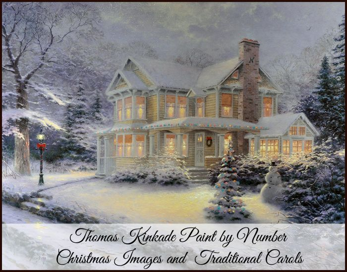 Are You Looking For Thomas Kinkade Paint Number Christmas