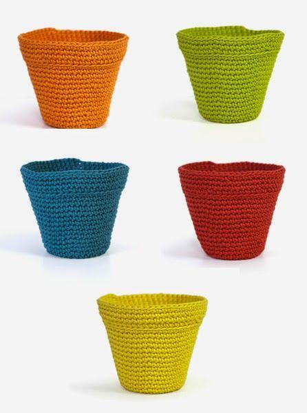 Crochet flower pot cover natura xl free diagram pattern span crochet flower pot cover natura xl free diagram pattern span ccuart Image collections