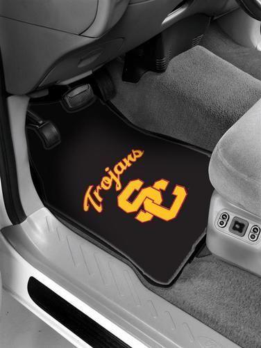 USC Trojans Southern Cal Rubber Car Floor Mats Auto