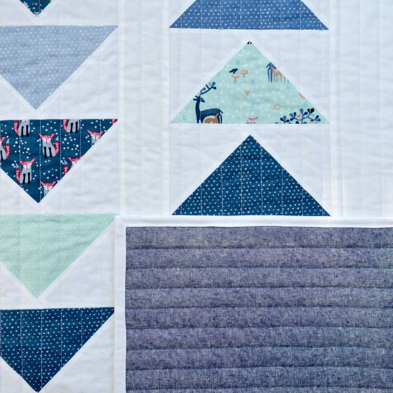 This Way That Way Flying Geese, Baby Quilt Tutorial   Quilt, The o ... : best modern quilt blogs - Adamdwight.com
