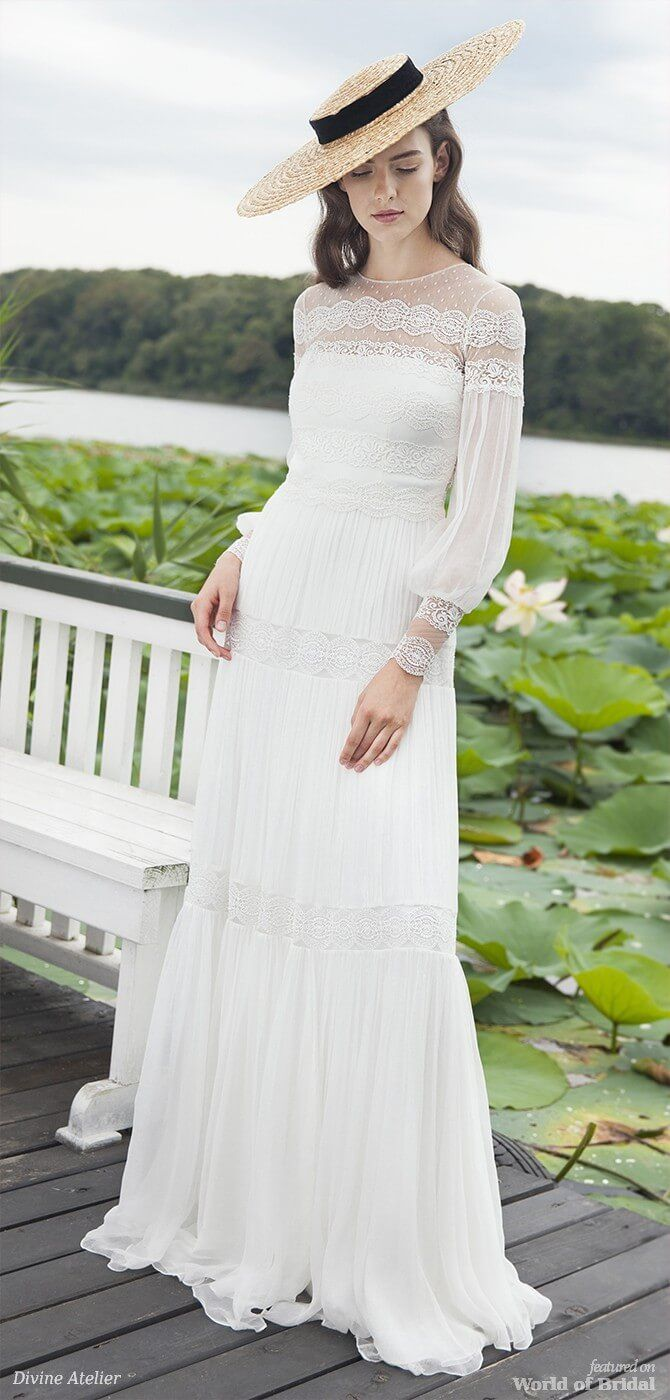 27 dresses wedding dress  Divine Atelier  Wedding Dresses  Gelinlik  Pinterest  Atelier