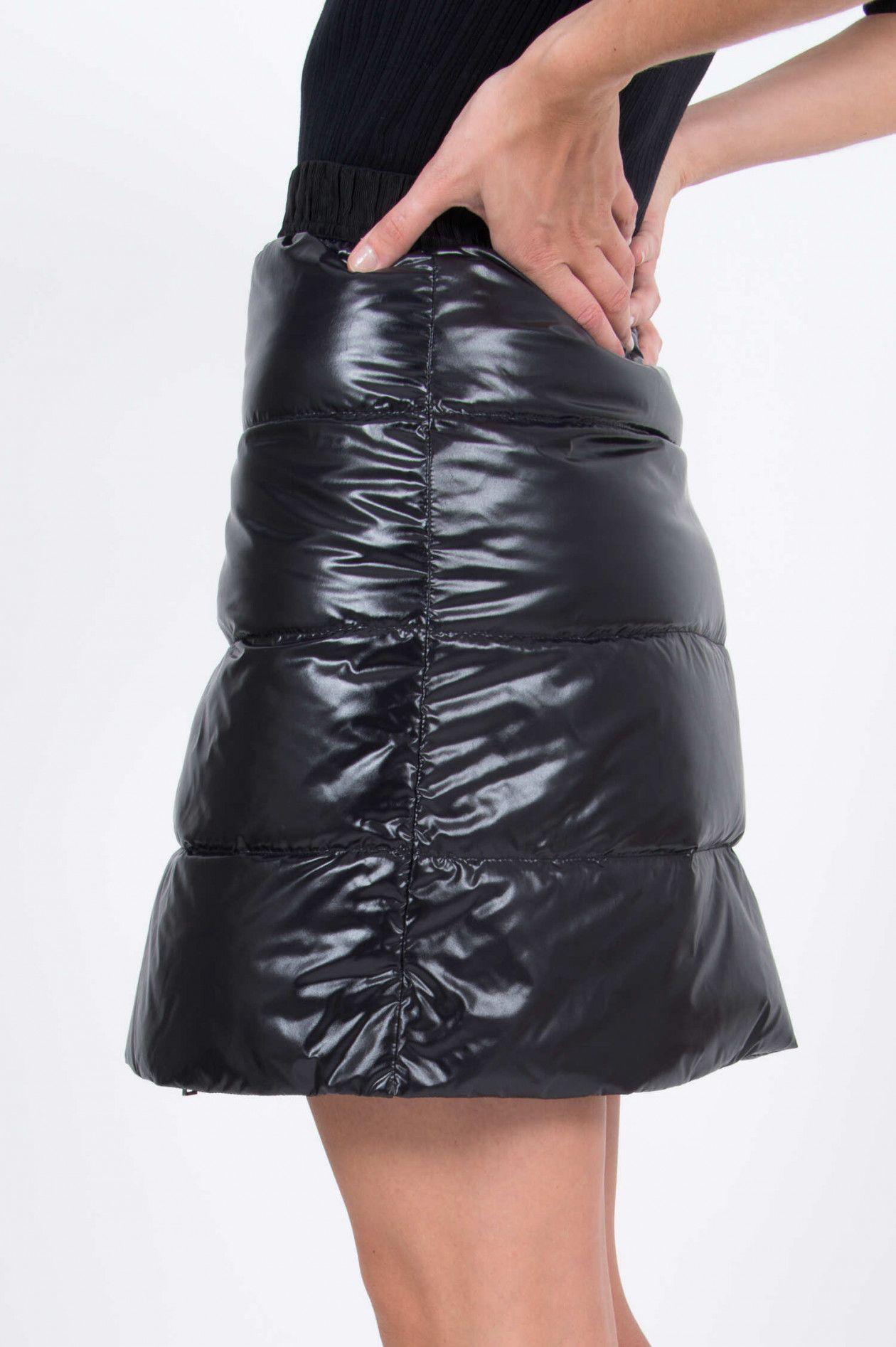Moncler Damen Daunenrock Schwarz | SAILERstyle