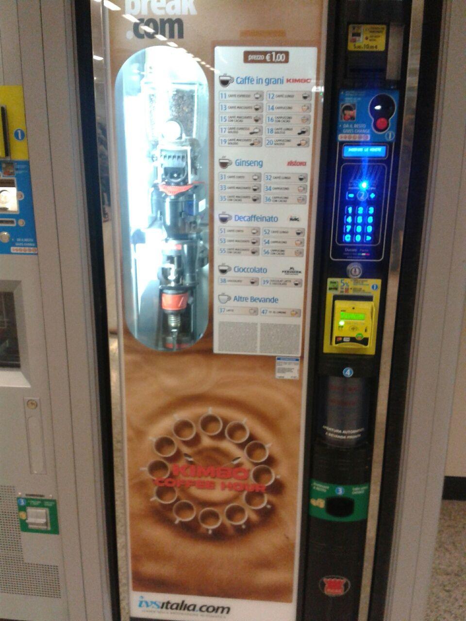Juoma-automaatti Roomassa