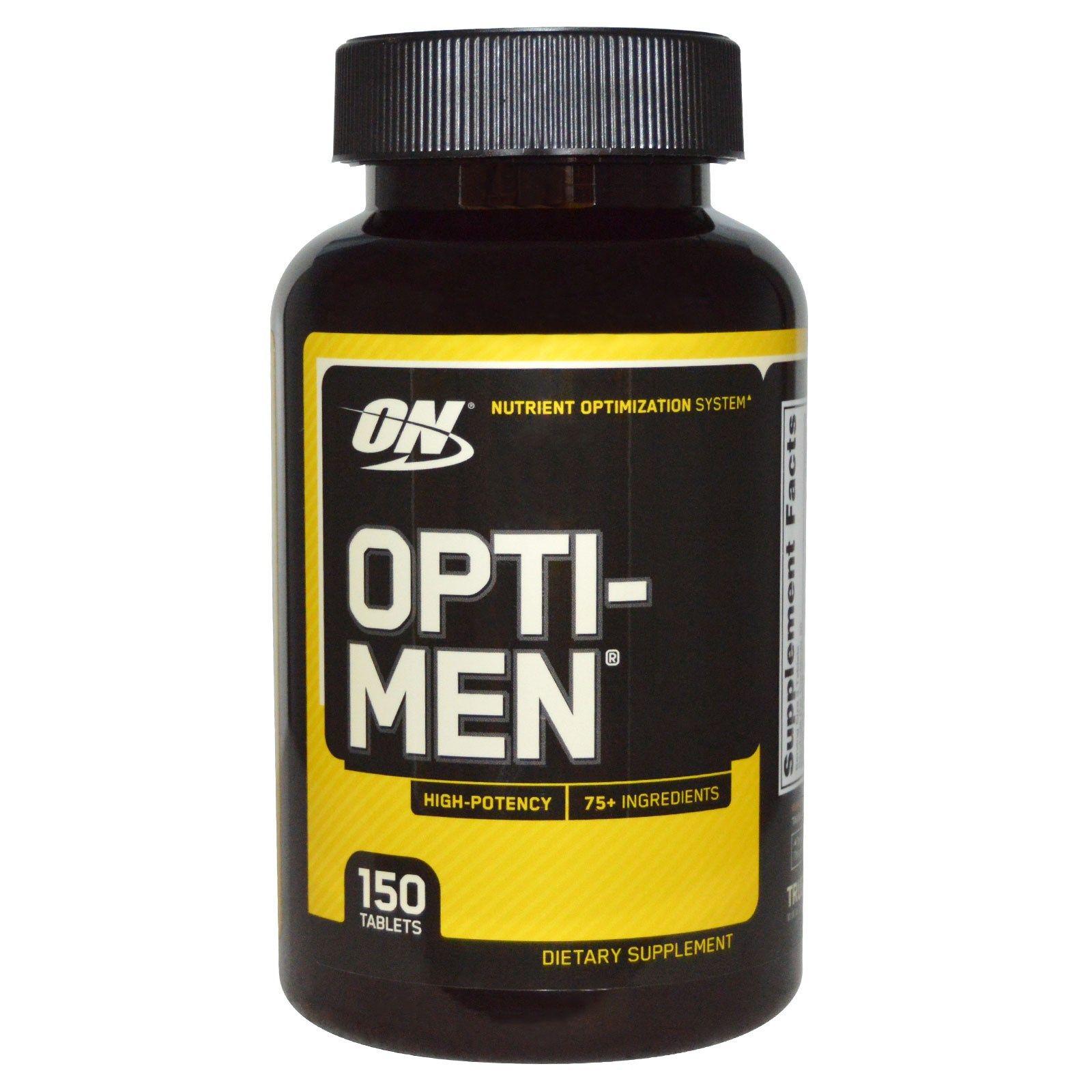 Optimum Nutrition, OptiMen, 150 Tablets Спортивное