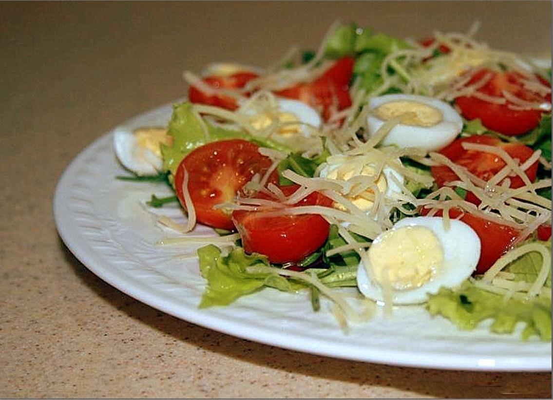 салаты из яиц рецепты с фото простые