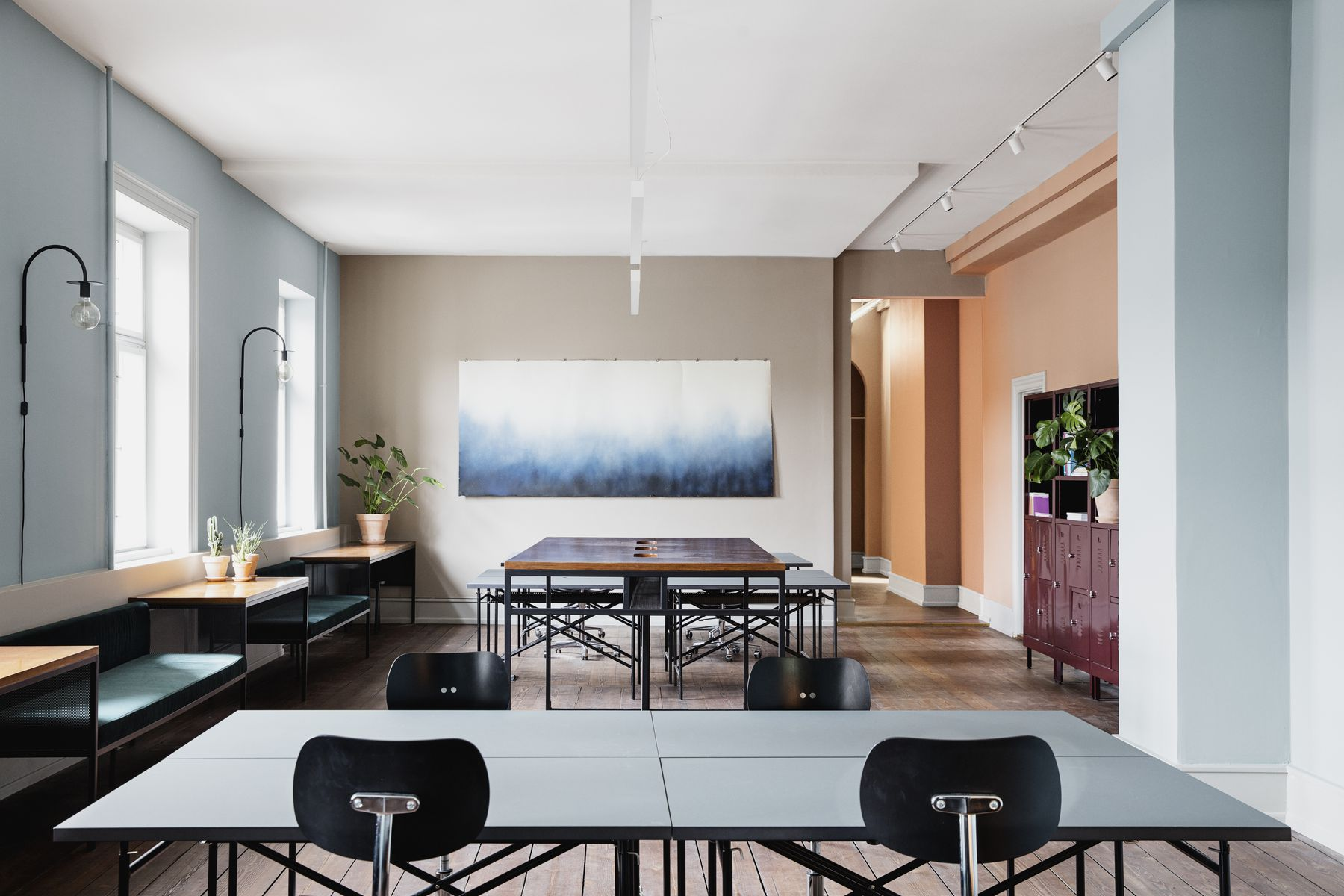 Two Scandinavian Coworking Spaces Flaunt High Design