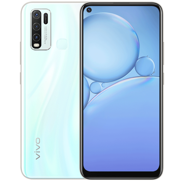 Buy Vivo Y30 4g 4gb 64gb Moonstone White With Official Warranty At Best Price In Pakistan Best Smartphone Vivo 64gb
