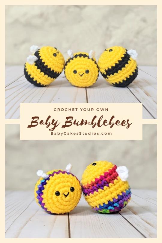 CROCHET PATTERN: Baby Bees
