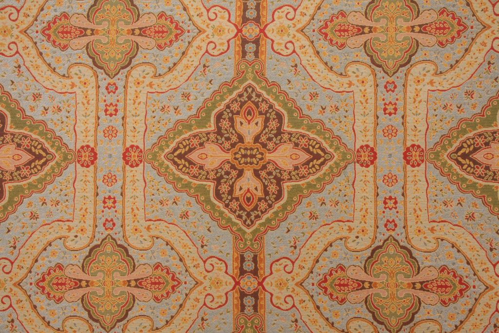Hamilton Fabrics Baku Chenille Tapestry Upholstery Fabric In Multi