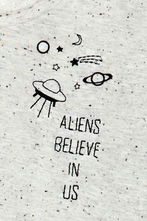 Alien And Background Resmi