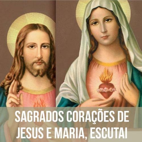 Sagrados corações de Jesus e Maria   Mundo Mensagens