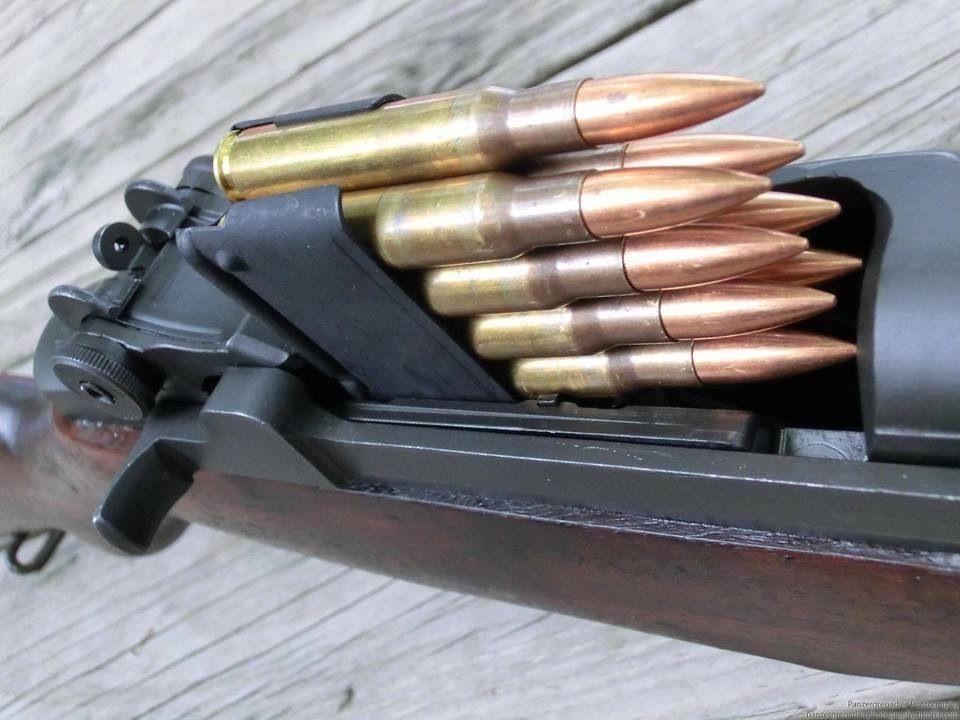 M1 Garand 8 round en bloc clip, .30-06