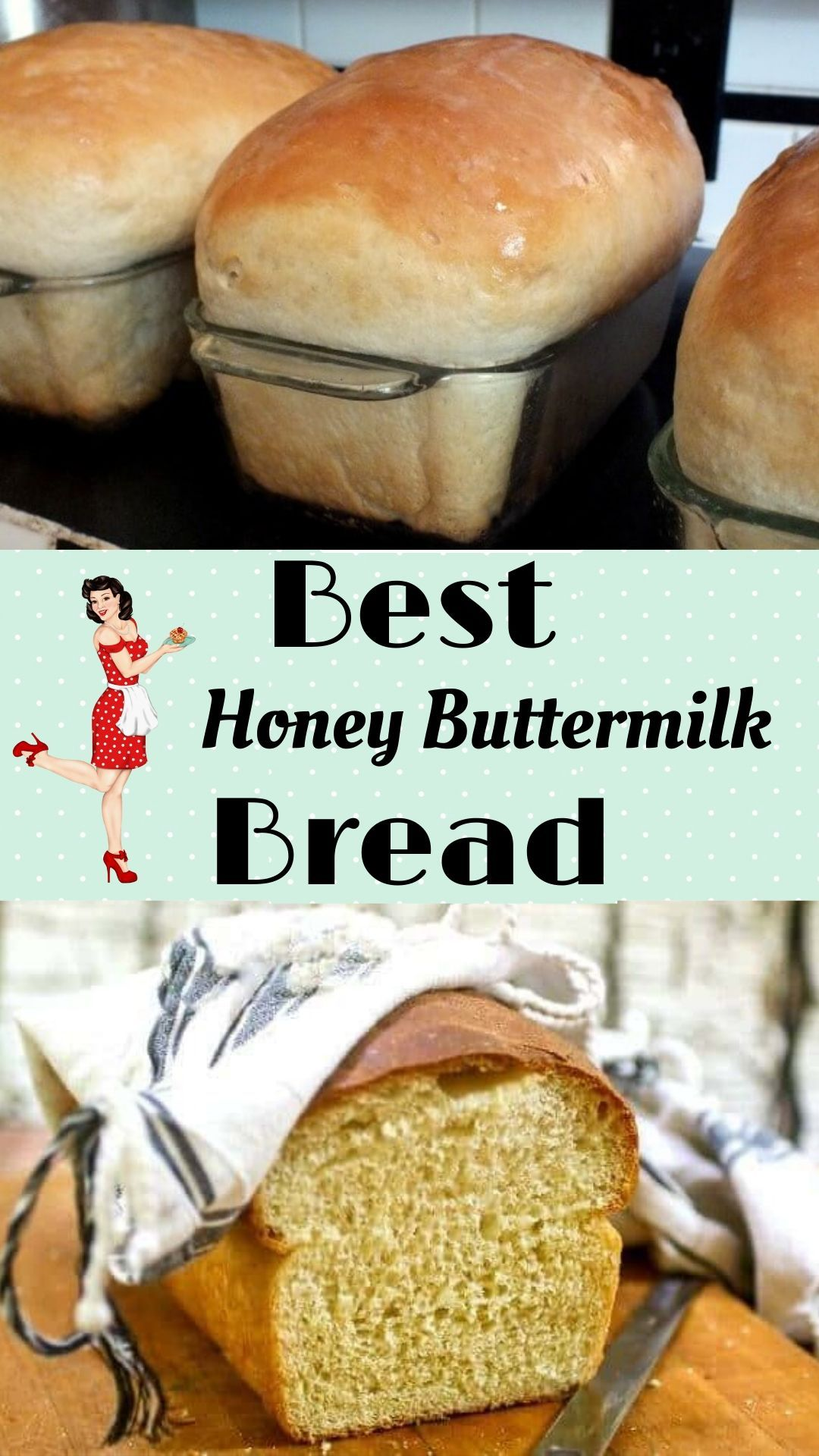 Honey Buttermilk Bread Recipe Buttermilk Bread Bread Recipes Homemade Homemade Buttermilk