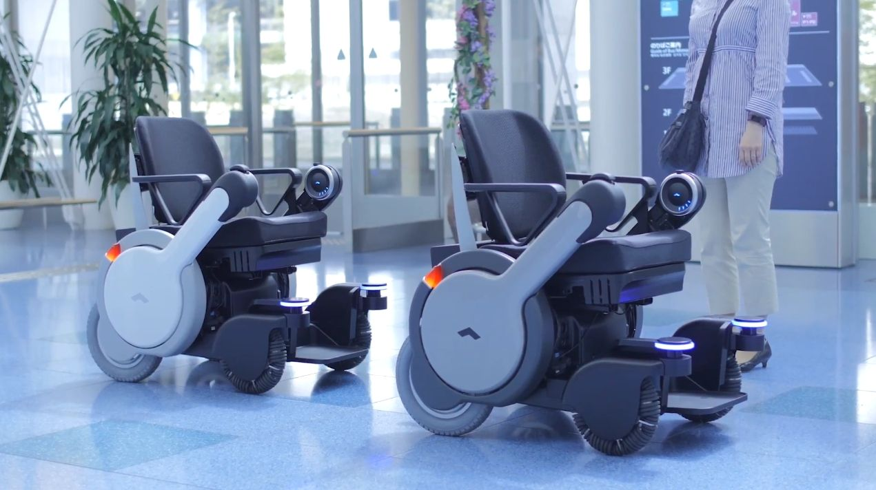 panasonic is developing a self driving wheelchair for use at