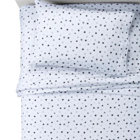 Stars Cotton Sheet Set Pillowfort Modern Bed Sheets Cotton