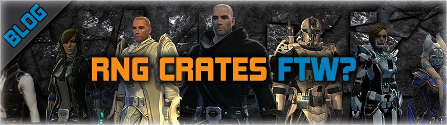 If you don't like RNG Crates, can you still enjoy SWTOR?