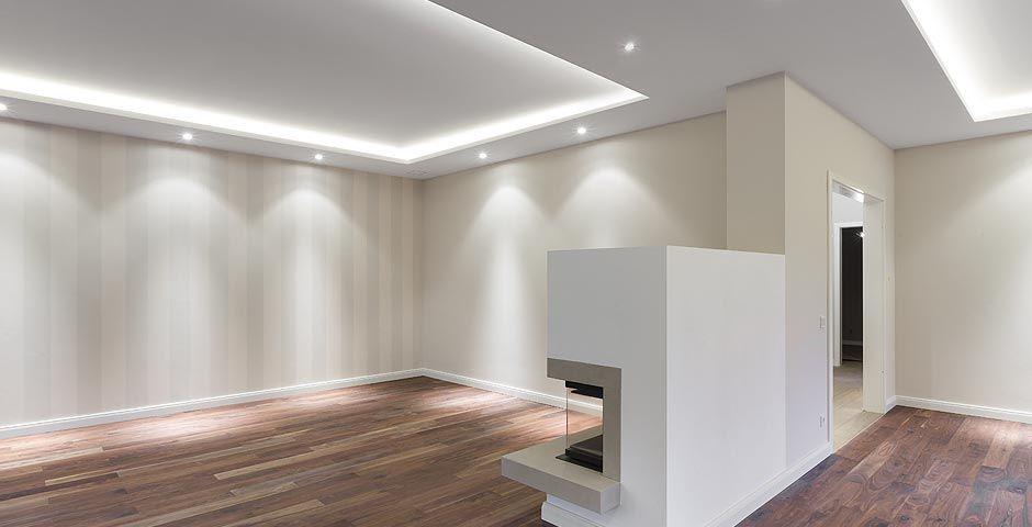 Voutenbeleuchtung  Kitchen  Living room lighting